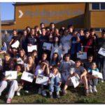DEPORTES NECOCHEA: La escuela municipal de atletismo cerró  el ciclo 2009 en el Polideportivo