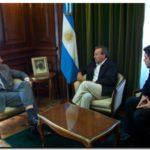 ELECCIONES 2011: Cobos recibió a Molina y a Kuhn