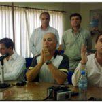 NECOCHEA: En conferencia de prensa Gerónimo Venegas fustigó la actitud de los concejales que se abstuvieron en la votación del Presidente del HCD