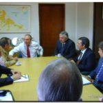NECOCHEA: Dirigentes del FPN en la Subsecretaria de Viviendas