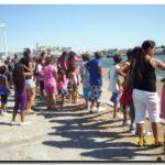 """QUEQUÉN: Alegría de los niños quequenenses en """"Compartiendo Espacios"""" en la Playa"""