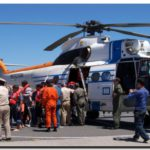 QUEQUÉN: Exitoso rescate de  8 tripulantes en altamar a cargo de Prefectura