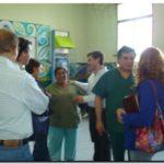 NECOCHEA: Visita de concejales de Unión Peronista al Hospital Irurzun. Preocupación por la Planta de Medicamentos