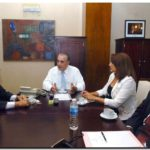 NECOCHEA: Molina junto a Denot y Gorosito se reunió con Camaño