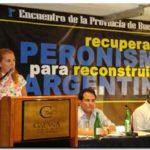 """ELECCIONES 2011 Venegas, Rucci y Guarracino en el Encuentro Provincial por la Reconstrucción del Peronismo. Claudia Rucci: """"Los únicos privilegiados son los Kirchner"""""""