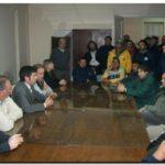 NECOCHEA: El HCD recibió a recolectores luego de una manifestación