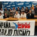 GREMIALES: Se presentó la Campaña por el Trabajo Digno impulsada por la Juventud de la CTA