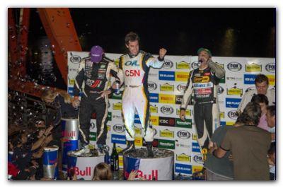 AUTOMOVILISMO: Guerrieri se quedó con el triunfo en el Master de Pilotos que se realizó en Puerto Madero. De Benedictis en el podio