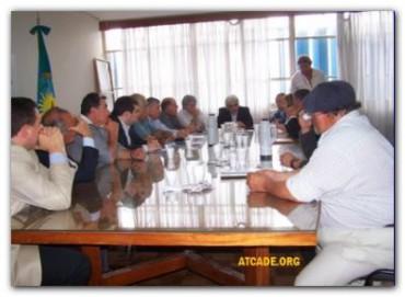 """TRANSPORTISTAS: """"Hemos logrado un 21 % de aumento en las tarifas para los transportistas"""" dijo Miguel Aguilar, líder de ATCADE."""