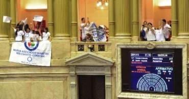 LEYES: Se aprobó por unanimidad la modificación a la ley de Protección al diabético