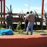 NECOCHEA: Intensos trabajos de embellecimiento y acondicionamiento en la Rambla Municipal