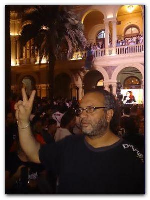 POLÍTICA: El Evita de Necochea presente,  en el regreso de Cristina