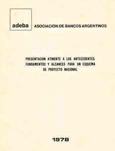 DICTADURA: La propuesta política de los banqueros