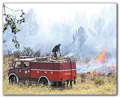 SIERRA DE LA VENTANA: Un incendio que se inició detrás de un camping terminó quemando 20 mil hectáreas, incluyendo casi toda la Reserva Tornquist. El fuego sigue, pero controlado.