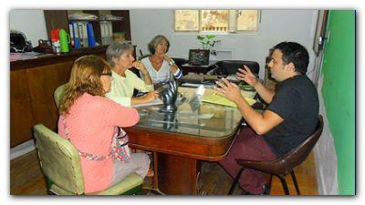 NECOCHEA: El Concejal Luciano Lescano con la Asociación para la conservación del Parque Miguel Lillo