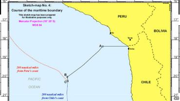 LAUDO: La Haya fija un nuevo límite marítimo entre Chile y Perú