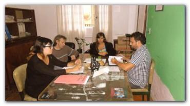 NECOCHEA: El Concejal Lescano mantuvo reuniones con el Colegio de trabajadores sociales y el servicio local