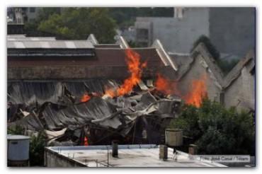 INVESTIGACIÓN: Nuevos elementos alimentan la hipótesis de intencionalidad del incendio en el depósito de Barracas