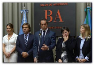 PARO DOCENTE: El gobernador Scioli instrumentó por decreto el aumento a los docentes