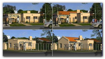 PRO.CRE.AR.: Ya se encuentran disponibles en la web 12 nuevos modelos de casas