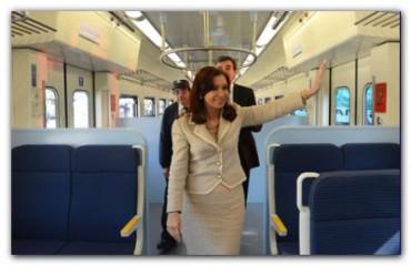 GOBIERNO: La Presidenta presentó la renovación total del Ferrocarril San Martín