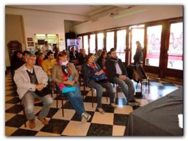 NECOCHEA: El Concejal Lescano en Jornada por los Derechos Humanos