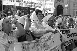 Las Madres de Plaza de Mayo conmemoran un nuevo aniversario del inicio de su lucha