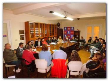 NECOCHEA: Comisión cultura y educación del HCD
