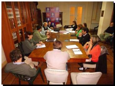 NECOCHEA: Reunión de la Comisión de Legislación e Interpretación y Reglamento del HCD