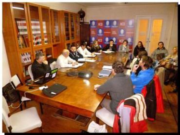 NECOCHEA: Reunión de medio ambiente en el HCD