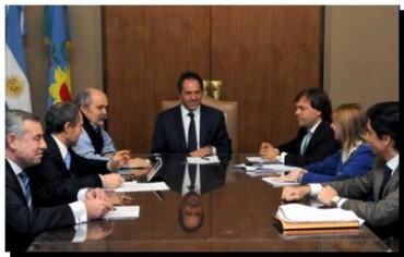 SEGURIDAD: Scioli firmó el decreto para crear la Superintendencia de Seguridad Local