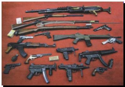 SEGURIDAD: En tres meses de emergencia en Seguridad secuestraron casi 3 mil armas