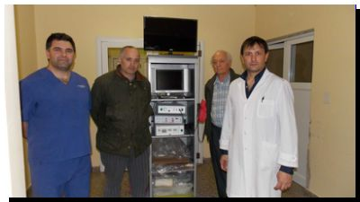 SALUD: Donaron un monitor para laparoscopia del Hospital de Necochea
