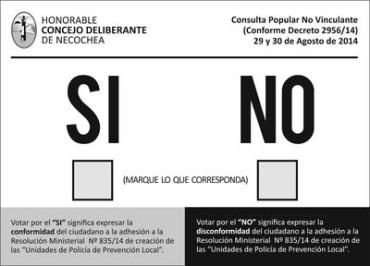 El concejal Vidal no acataría el resultado de la consulta popular
