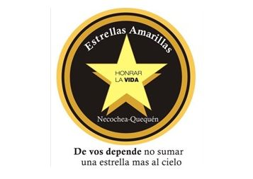 NECOCHEA: Primera estrella por las víctimas de accidentes de tránsito
