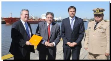 Salud provincia entregó en el Puerto La Plata el protocolo ante casos sospechosos de ébola
