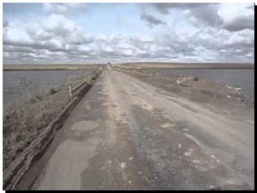 NECOCHEA: Se modifica el tránsito en la Ruta Provincial 86