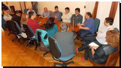 NECOCHEA: Acordaron estrategias para el uso del Fondo Educativo