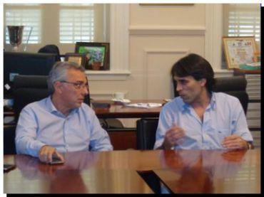 POLÍTICA: López gestionó en Tigre un convenio de colaboración turística para Necochea