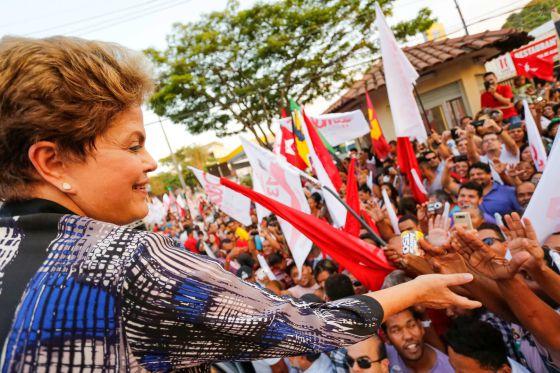 BRASIL: Rousseff vuelve a liderar las encuestas a una semana de las elecciones