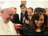 VATICANO: Cristina y el papa Francisco mantienen un almuerzo en la residencia de Santa Marta en el Vaticano