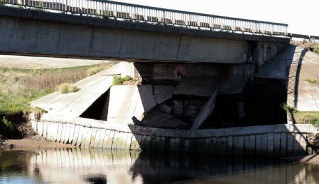 NECOCHEA: La problemática de los puentes