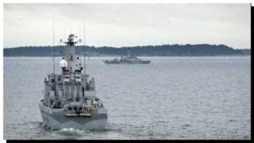 """TENSIÓN militar entre Suecia y Rusia por un """"submarino ruso intruso"""""""