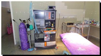 QUEQUÉN: El Hospital Irurzun ya tiene mesa de anestesia de última generación