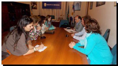 NECOCHEA: Reunión con integrantes del Servicio Local de Protección de Niños y Adolescentes