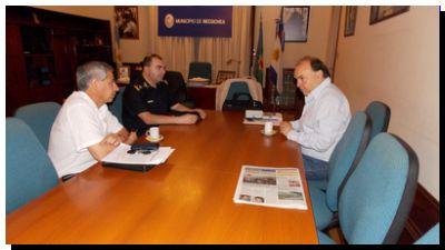 NECOCHEA: Vidal se reunió con el jefe de la Departamental de Policía por la seguridad