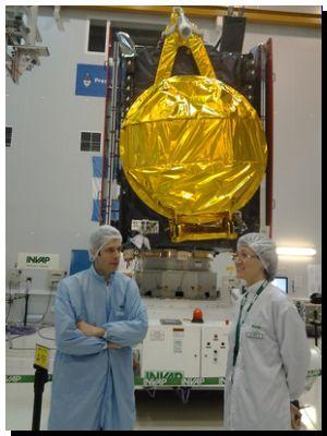 ARSAT-1: La ingeniera Ana Caumo dará la orden de lanzamiento del satélite