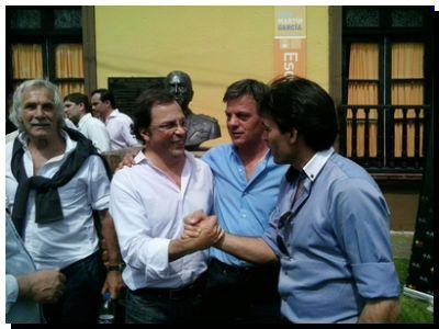 """POLÍTICA: López junto a Massa: """"Ninguna campaña de miedo va a detener el camino al futuro"""""""