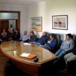 PUERTO QUEQUÉN: Reunión sobre el dragado con el sector gremial