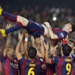 FÚTBOL: Fue operado Lionel Messi